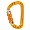 Petzl SM'D H-frame TRIACT-LOCK carabiner with tethering hole