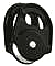 Petzl RESCUE pulley Black