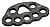 Petzl PAW MEDIUM Rigging plate Black