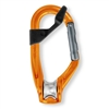 Petzl ROLLCLIP pulley carabiner non locking with CAPTIV