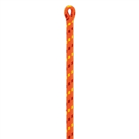 Petzl FLOW 11.6 mm Static Rope ORANGE 148 Feet with 1 Termination