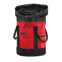 Petzl 2018 Rope BUCKET climbing static Red ropebag 25 liter