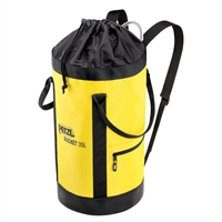 Petzl BUCKET climbing static rope bag 35 Liter