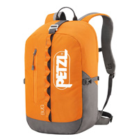Petzl BUG climbing pack 18 liter 1098cu in Orange
