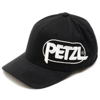 Petzl PETZL TEAM LOGO HAT Logo ball cap Black sz 1