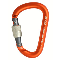 Rock Exotica Pirate Screw-Lock Carabiner