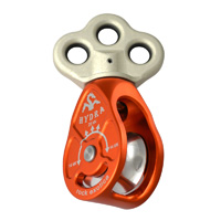 Rock Exotica Hydra Triple Attachment Swivel Pulley P4