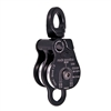 "Rock Exotica Omni-Block 1.5"" Double Black Pulley P51D-B"