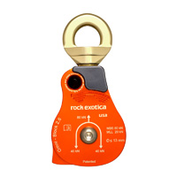 "Rock Exotica Omni-Block 2.6"" Single Pulley P55"