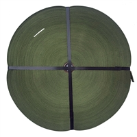 Tubular Webbing 1 inch x 100 yards Camo Green