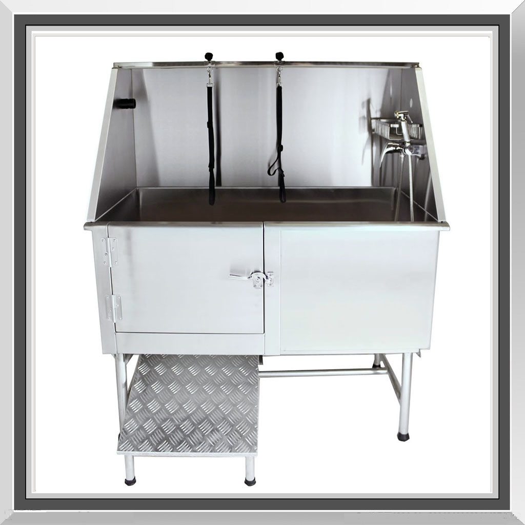 Hydraulic Dog Bath Tub : Sale medium professional stainless steel dog pet