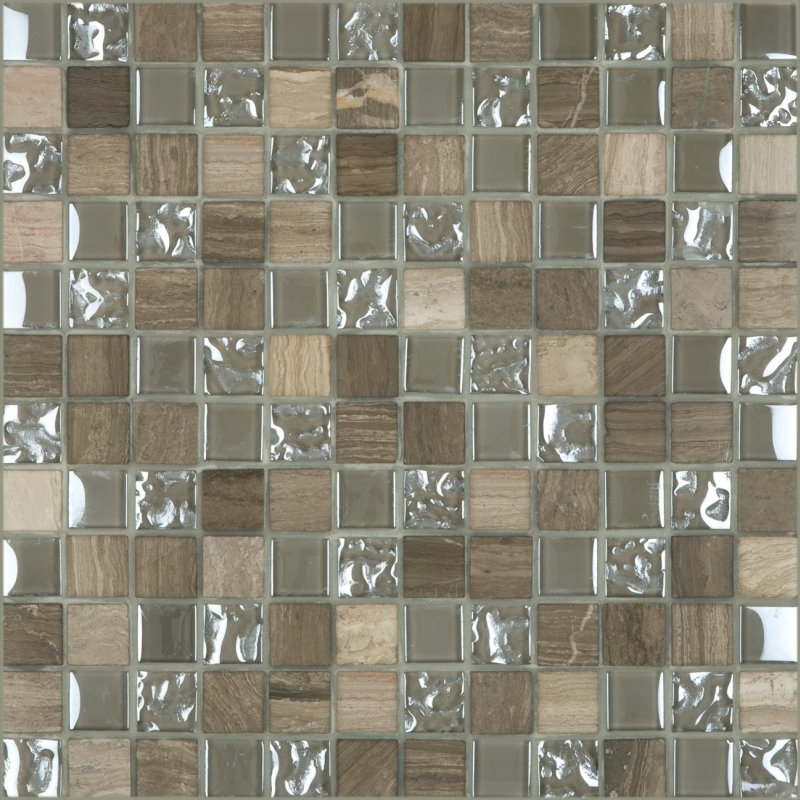 "Cordoba Grey Mosaic 1"" x 1"" (12"" X 12"" Sheet)Suwanee, Atlanta, Johns Creek, Buford, Duluth, Gwinnett, Alpharetta, Lilburn, Roswell,Flooring, Tile, Wood, Porcelain Tile, Ceramic Tile, Mosaic Tile, Mosaic, installation product sale, happy floors, happy floo"