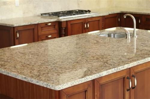 Giallo Cream Granite Slab
