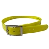 Rubber Buckle Strap Collar (Yellow)