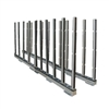 Abaco Rhino Slab Rack with Rubber Lined Poles RSR10R