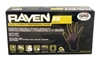 RAVEN PF BLACK PRO STRENGTH GLOVES, MEDIUM