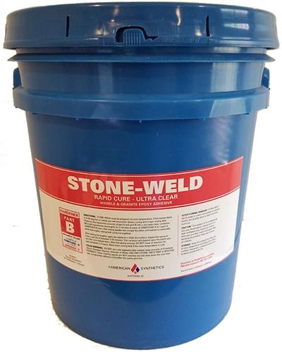 Stone-Weld: Marble & Granite Epoxy Adhesive - 5 Gallon - Part B