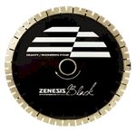 "ZENESIS 12"" BLACK SILENT CORE BLADE, 25MM"