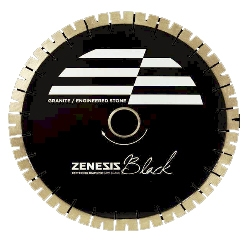 "ZENESIS 20"" BLACK SILENT CORE BLADE, 25MM"