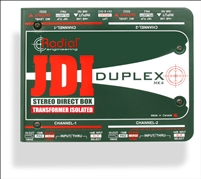 Radial JDI Duplex Passive Stereo Direct Box