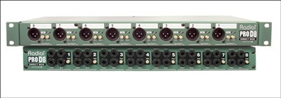 Radial ProD8 8 Channel Direct Box