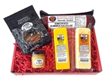 Wisconsin Cheese, Sausage, Pretzels and Mustard Gift Pack