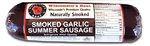 Hickory Smoked Garlic Summer Sausage
