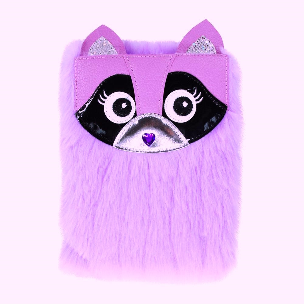 529067abd5 Pink Poppy Furry Friends Raccoon Journal Diary