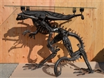Alien Table, Scrap Metal Art