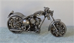 Scrap Sculptures Motorcycle