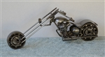 Scrap Sculptures, Motorcycle, Harley, Chopper