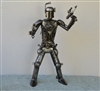 Boba Fett Sculpture, Scrap Metal Art