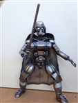 Darth Vador Sculpture, Scrap Metal Art