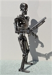 Terminator Sculpture, Scrap Metal Art