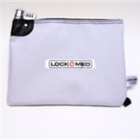 LOCKMED FIRE RESISTANT LOCKBAG with Combination Lock - LARGE