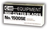 C&H SE 1500 Blade <BR> Per Hundred