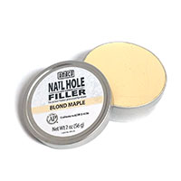 Nail hole filler for wood frames