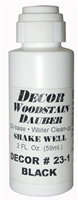 Wood stain Dauber - Black 2 oz.