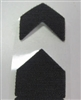 Velcro hook corners for sample frame mouldings