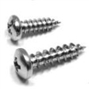 Pan Head Phillips Screw</br>1 In. x  8</br>1000 per box </br>