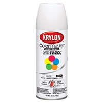 #1502 Krylon flat white spray paint