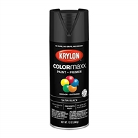 Krylon #1613 Black Satin