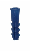 Blue Anchors For T-Screw # 509</br>1 x 6 / 1 x 8 In. Screw</br>100 Per /Box </br>