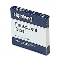3M Highland Transparent Tape 1/2 in. x 72 yds.