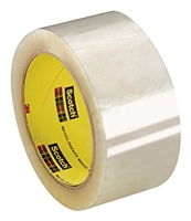 3M Smooth Box Sealing Tape 2 in x 60yd. Clear