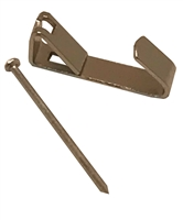 oodwill Nickel Plated <br> Picture Hangers <BR> (20 lb)<BR>Pack of 100 Poly Bags
