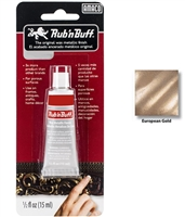 Rub n Buff-Metallic Color <BR> ( 1/2 oz. tube - European Gold )