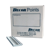 Decor Wax Free Stacked Framers Points  <BR>( 3000 ct )