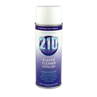 210 Plastic Cleaner & Polish<BR>14 oz.