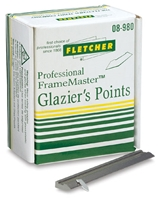 glazier points 08-980